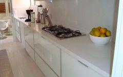 Cozinha em Mármore Branco Prime