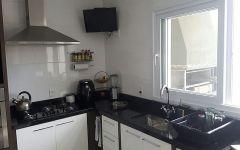 Tampo Cozinha em Granito Preto São Gabriel