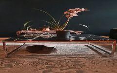 Mesa em Mármore Nero Marquina